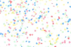 Confettis de Olorful Fotos de Stock