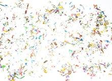 Confettis dispersés Photographie stock libre de droits