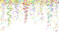 Confettis en baisse Photographie stock