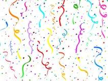 Confettis en baisse Image stock