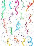 Confettis en baisse Photos stock