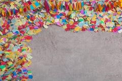 Confettis, escaliers de sorcières Image libre de droits
