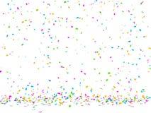 Confettis het vallen Stock Fotografie
