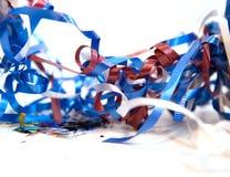 Confettis multicolores Photos libres de droits