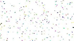 Confettis partout illustration de vecteur