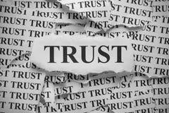 confiança Foto de Stock