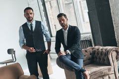 Confiança e estilo foto de stock royalty free