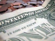 Confiança americana Imagens de Stock