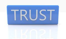 confiance Photographie stock
