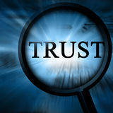 Confiance Image libre de droits
