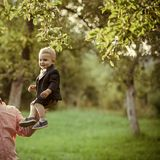 Confiance, amour, famille Image stock