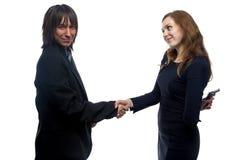 Confiance de l'homme et de la femme Photographie stock