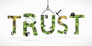 Confianza stock de ilustración