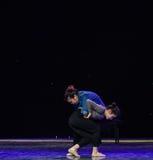 Confidante-Modern dance Stock Photo
