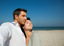 Confidence couple Stock Photography