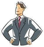 Confidence executive Stock Photography