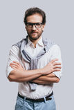 Confidence and style. Stock Images