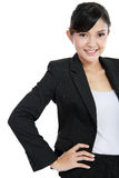 Confidence young business woman Stock Image