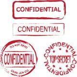 Confidencial Foto de archivo libre de regalías