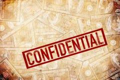 Confidencial, NDA Fotos de archivo libres de regalías
