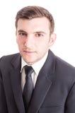 Confident accountant on white backrgound Royalty Free Stock Photos