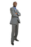 Confident african american business man Stock Images