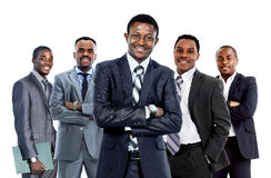 Confident African American Business Team Stock Photos