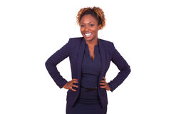Confident African American business woman Royalty Free Stock Image