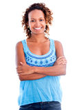 Confident african american woman Royalty Free Stock Photos