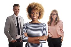 Business team portrait Royalty Free Stock Images