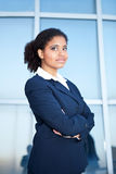 Confident afro businesswoman Stock Photos