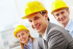 Confident architect Royalty Free Stock Photos
