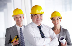 Confident architect Royalty Free Stock Photography