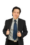 Confident asian business man smiling Royalty Free Stock Images