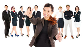 Confident asian business team Stock Photography