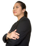 Confident asian business woman Stock Images