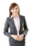 Confident Asian business woman Stock Photography