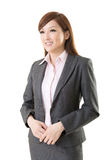 Confident Asian business woman Stock Photo