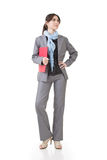 Confident Asian business woman Stock Image