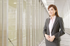Confident Asian business woman Royalty Free Stock Images