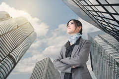 Confident Asian business woman Royalty Free Stock Photography