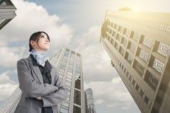 Confident Asian business woman Stock Photos