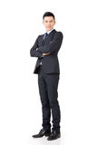 Confident Asian businessman Royalty Free Stock Image