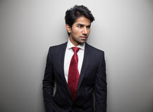 Confident Asian businessman Royalty Free Stock Images
