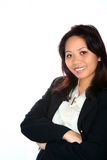 Confident Asian businesswoman Stock Image
