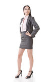 Confident Asian businesswoman Stock Photography