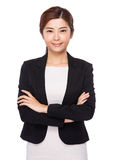 Confident asian businesswoman royalty free stock photography