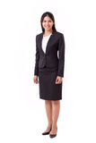 Confident asian businesswoman isolated Stock Images