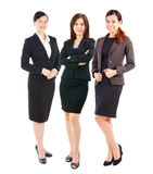 Confident asian businesswomen. Group of confident asian businesswomen Stock Photos
