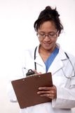 Confident asian doctor medical practitioner Stock Photo